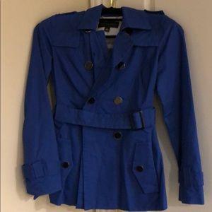 Banana Republic Blue Trench Jacket